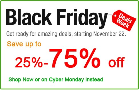 Amazon: interessanti offerte per il Black Friday