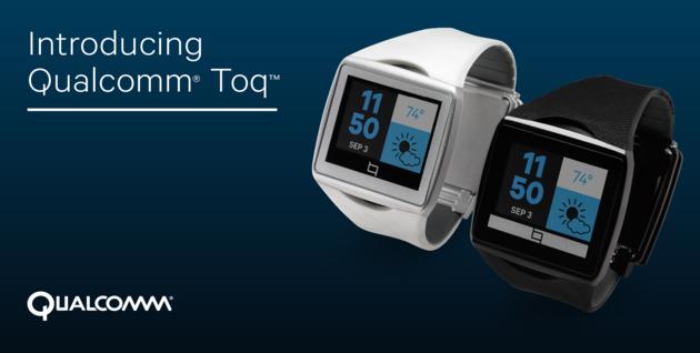 TOQ, lo smartwatch di Qualcomm, sarà disponibile a 350 dollari a partire dal 2 Dicembre