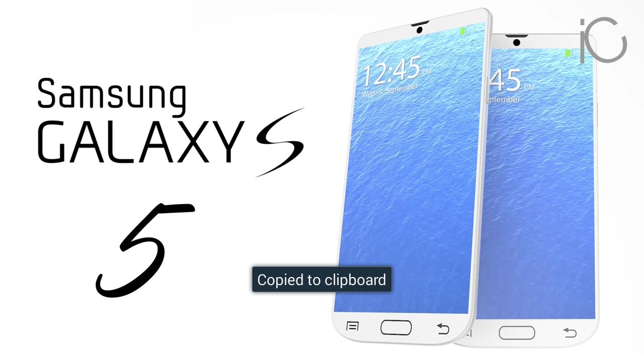 Samsung Galaxy S5: display flessibile e processore octa-core!