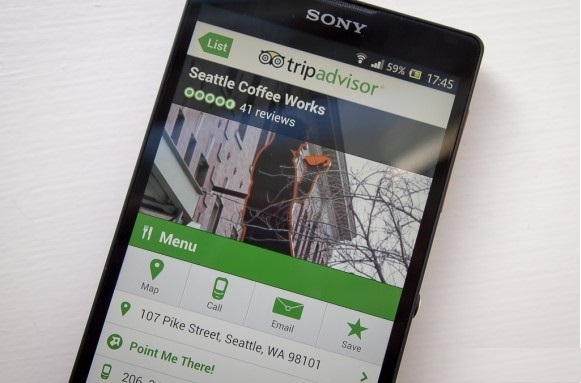 Si aggiorna Tripadvisor per Android migliorando filtri, consigli e tant'altro