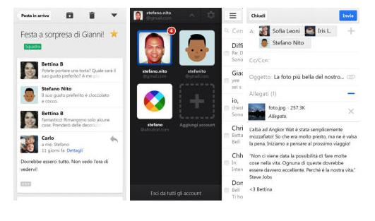 Gmail si aggiorna con grafica in iOS 7 style!