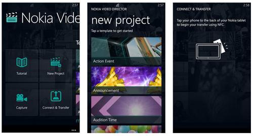 Nokia Video Director disponibile al download su Windows Phone per i dispositivi Lumia