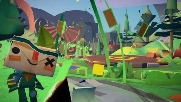 Playstation Vita: Tearaway – Origins of a Papercraft World