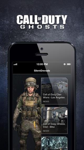 Disponibile su App Store l'app di Call of Duty: Ghosts