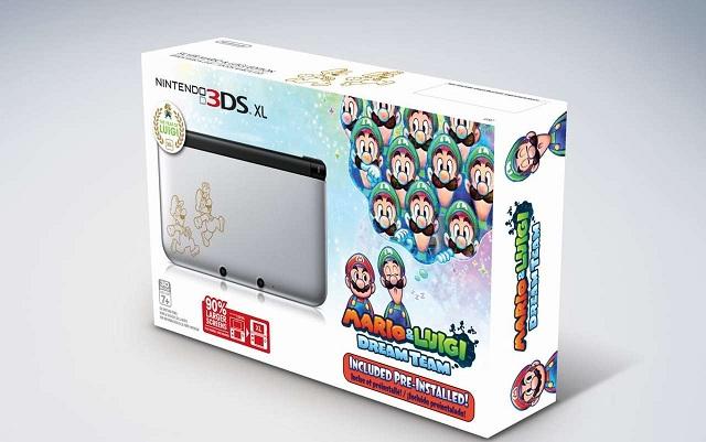 3DS: Nuovo bundle con Mario e Luigi