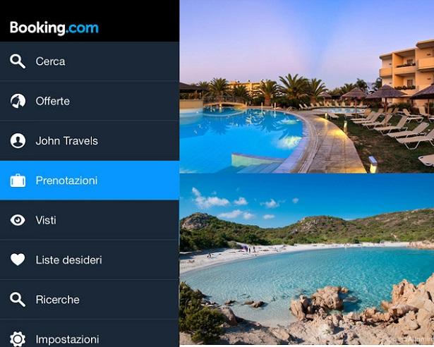 Creare una vacanza dal proprio device Android? Possibile grazie a Booking.com