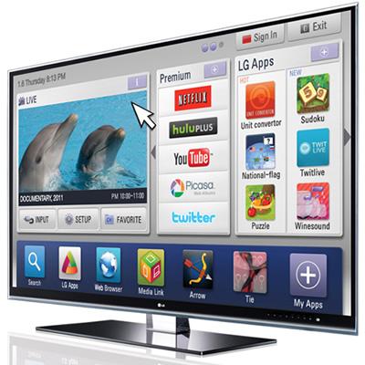 LG e il proprio SmartTV con webOS