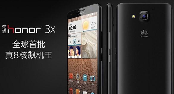 Annunciati ufficialmente Huawei Honor 3X e Honor 3C