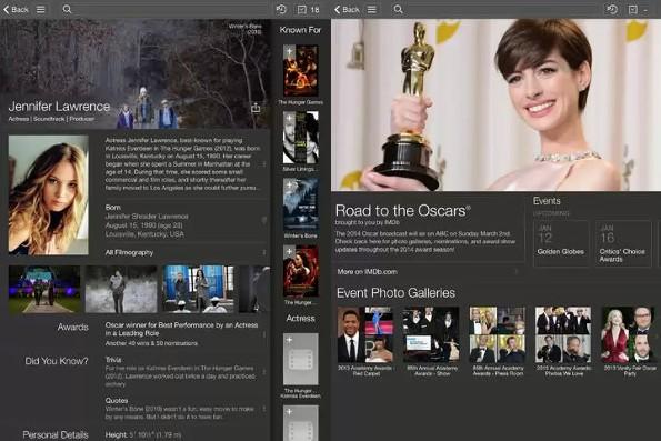 IMDb, la celebre major si aggiorna alla grafica in stile iOS7