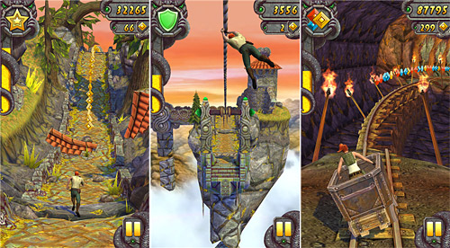 Temple Run 2 approda nei device con Windows Phone 8