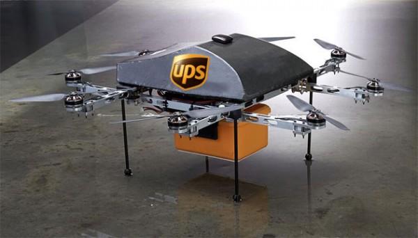 Anche UPS sta lavorando ad un sistema di spedizione tramite i droni che potrà competere con Amazon Prime Air!