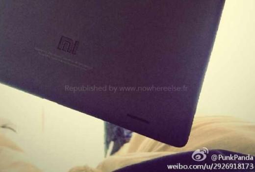 Arrivano le prime immagini del tablet Xiaomi