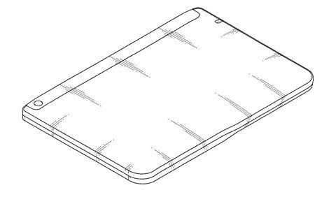 Tablet con schermo flessibile per Samsung