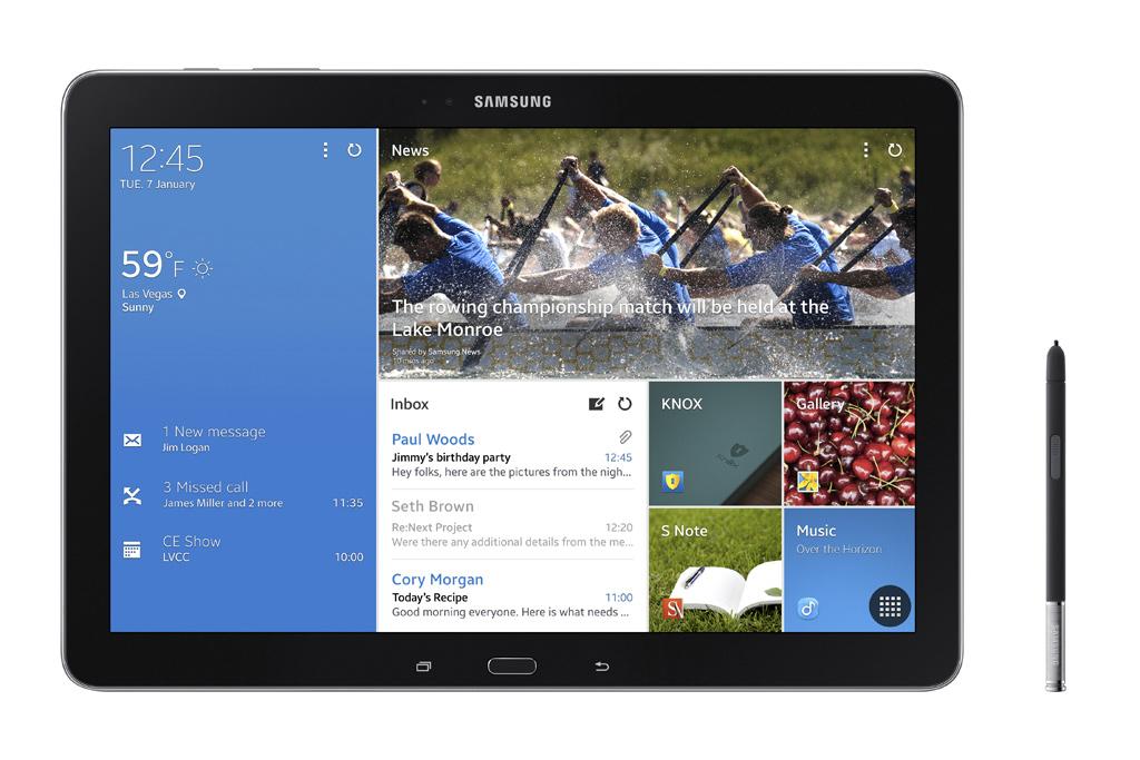 Presentato da Samsung il Galaxy TabPRO 12.2 al CES 2014. Scopriamolo insieme