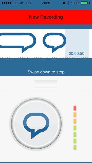 Trasforma il tuo iPhone in un registratore vocale