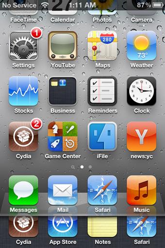Come realizzare il multitasking iPhone con MultitaskingGesture