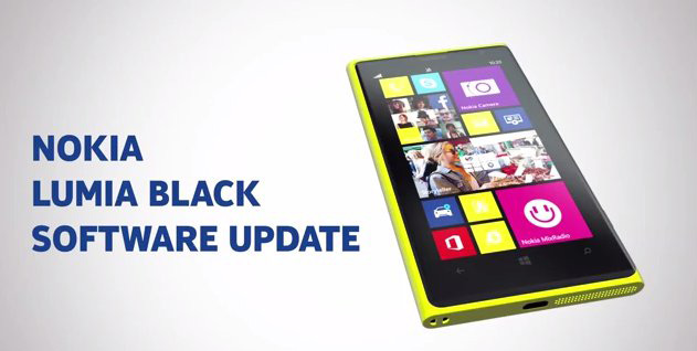 Nokia Lumia Black arriva in Italia