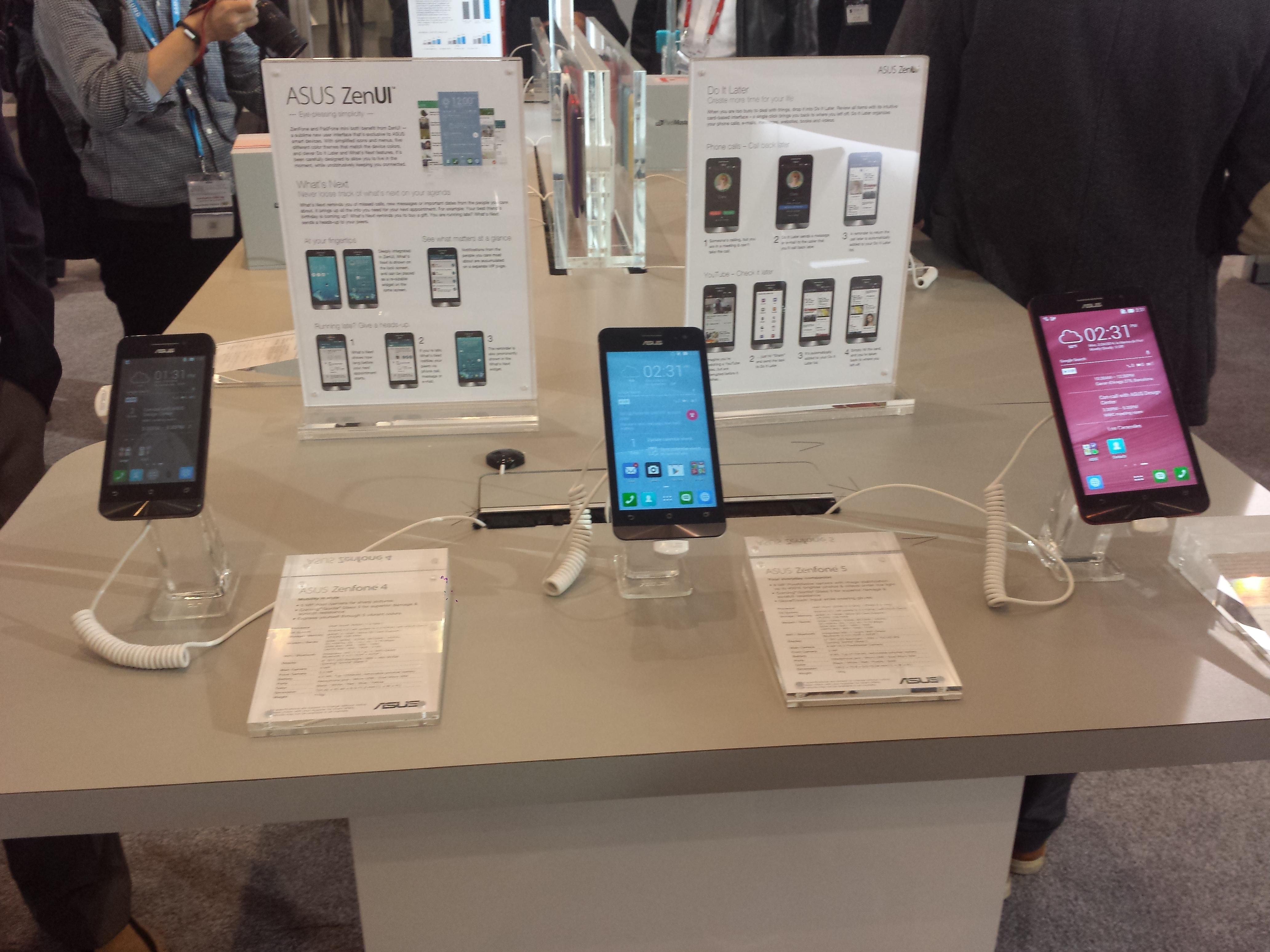 Vediamo i dispositivi presentati da Asus in questo MWC 2014