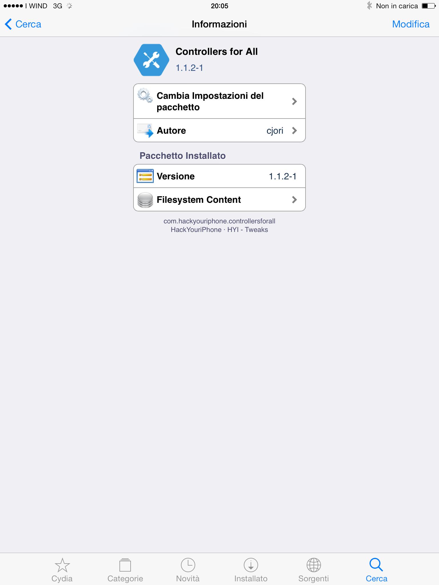 Usare il controller della Play 3 su iPad