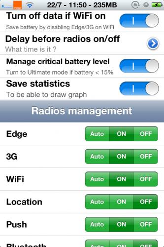 Come raddoppiare la durata della batteria di iPhone con BatteSaver