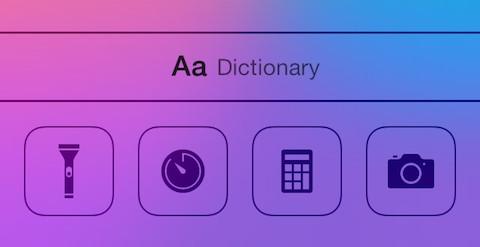 Come aggiungere dizionario, enciclopedia ad iOS 7