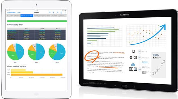 Samsung batte Apple nella vendita di Tablet