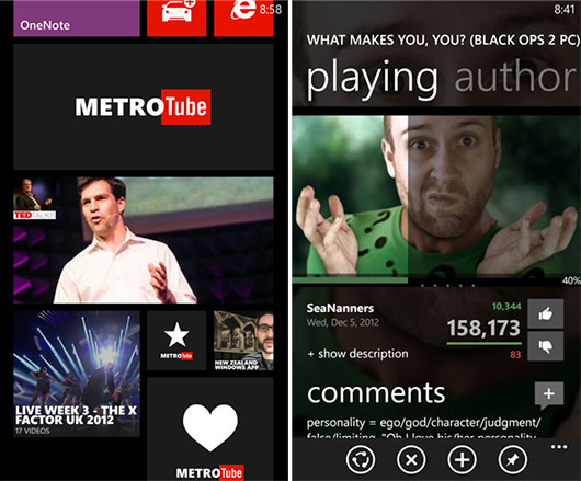 Come guardare video YouTube da Windows Phone