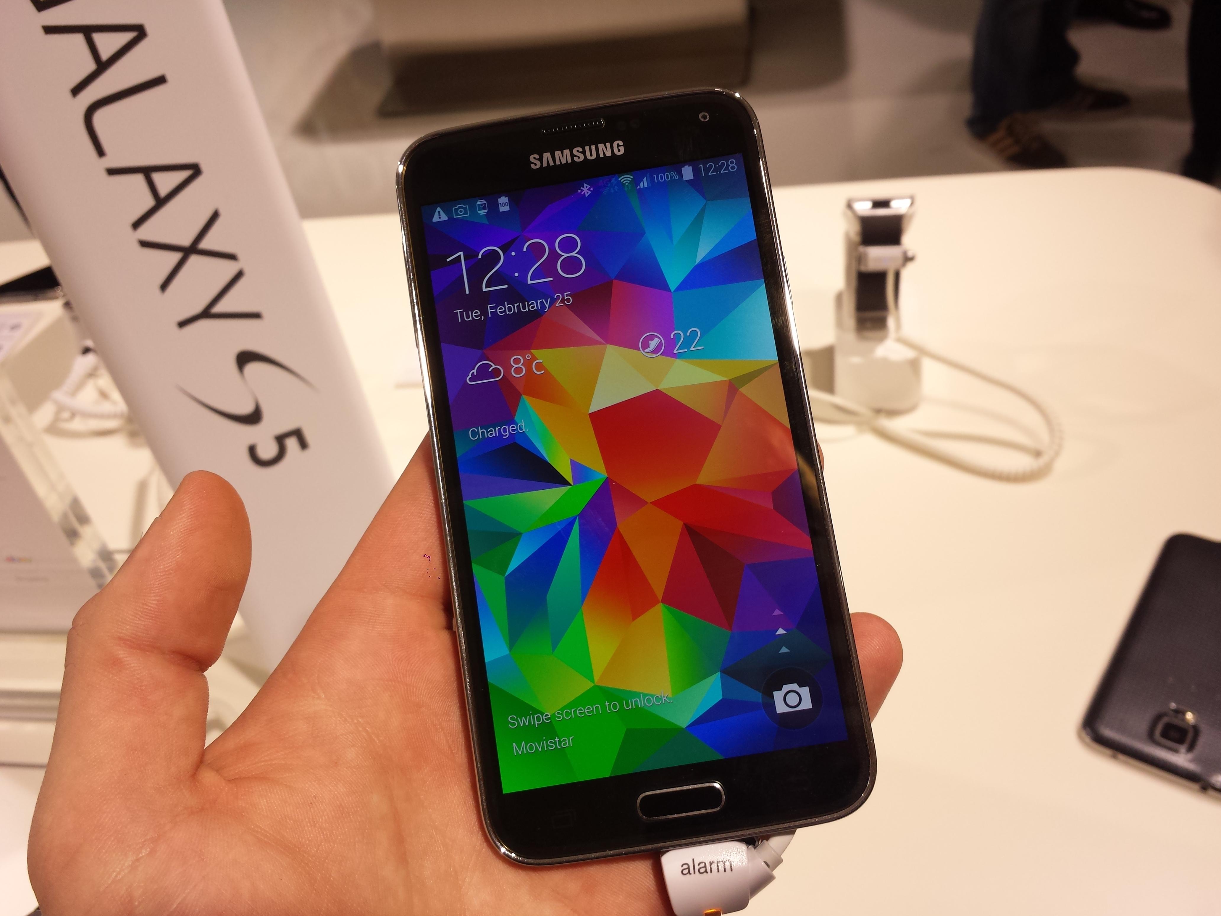 Samsung Galaxy S5 10 gb disponibili su i 16 totali