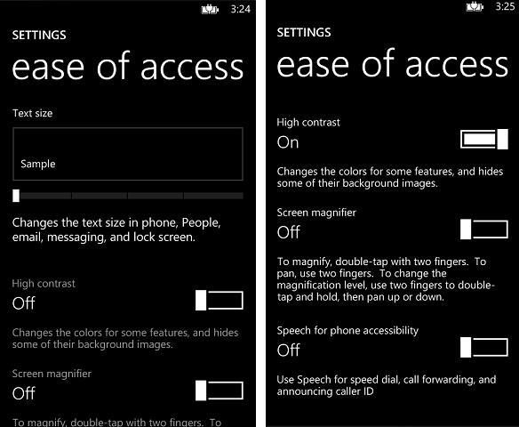 Come impostare tema Black su Windows Phone