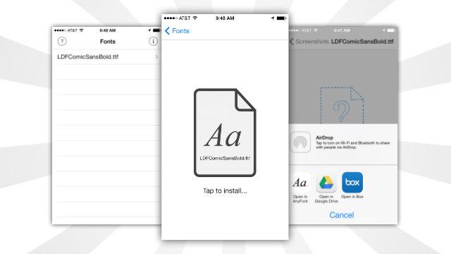 Installare nuovi font su iPhone e iPad,scopriamo come