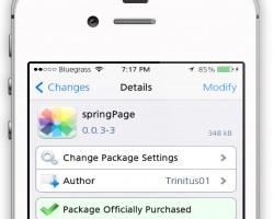 Impostare sfondi differenti per ogni schermata Homescreen di iPhone