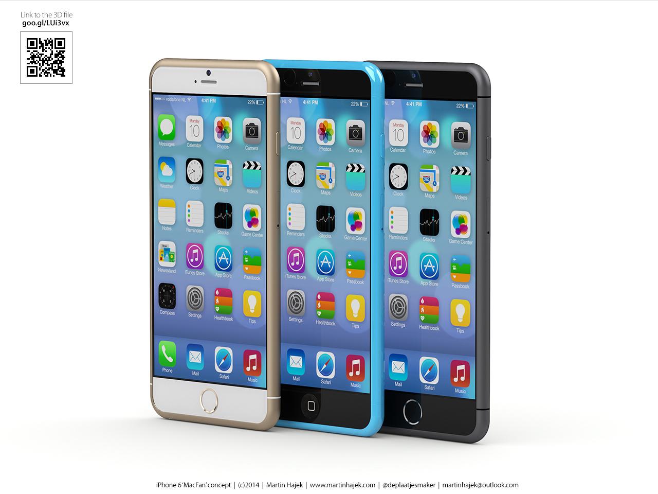 Nuovo Concept di iPhone 6S e 6C