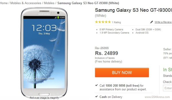 Samsung S3 Neo dual-sim presentato in India