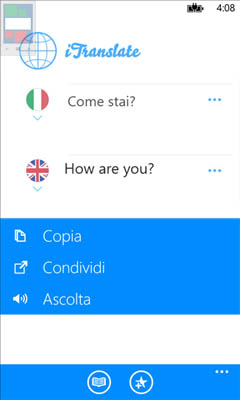 iTranslate: Applicazione per la traduzione su WindowsPhone 8
