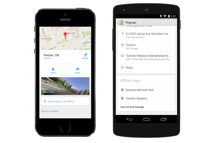 Come salvare mappe Google Maps offline con iPhone ed Android