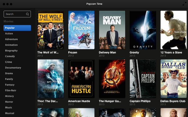 Popcorn Time Android: tra poco su Google Play Store