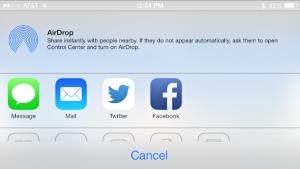 rispondere sms multitasking condivisione iphone