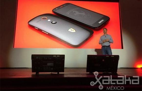 Motorola Moto G: Ferrari Edition
