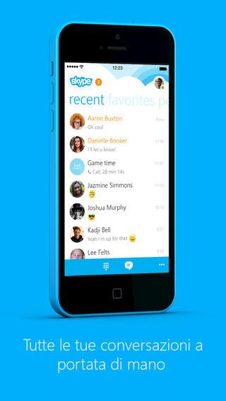Skype rilascia la relase 5.0 introducendo diverse funzioni e corretti alcuni bug
