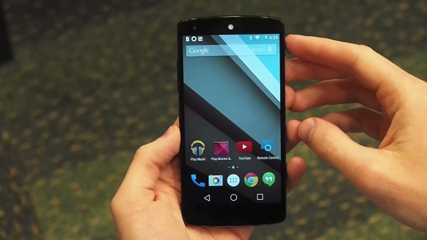 Android L,arriva il primo video hands-on