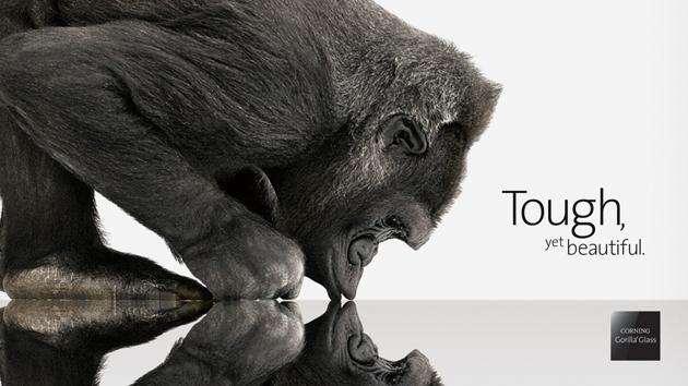 Corning presenta un Gorilla Glass con trattamento speciale per anti-riflesso