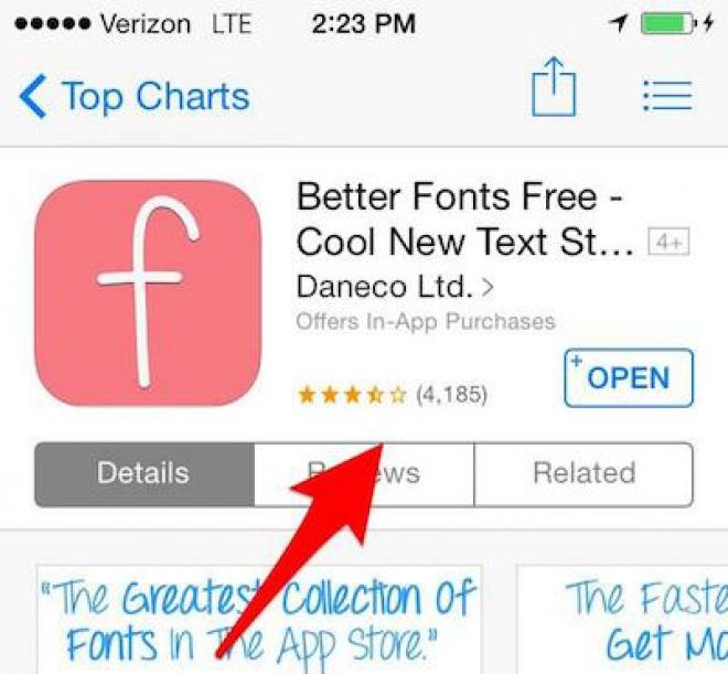 Serie conseguenze per chi scrive recensioni Fake in App Store