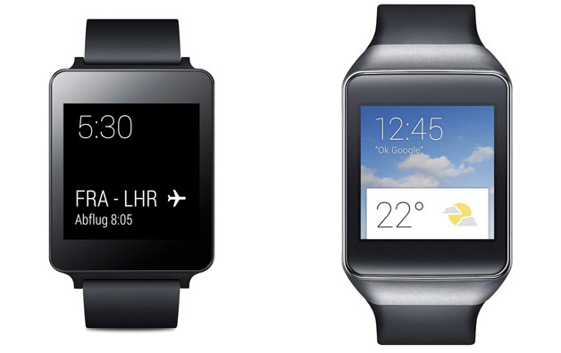Samsung Gear Live e LG G Watch video unboxing