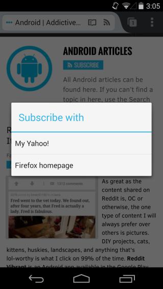 Come aggiungere, leggere, rimuovere feed RSS con Firefox Android