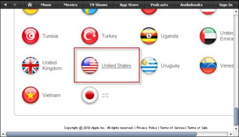 Come creare un account iTunes USA per contenuti esclusivi
