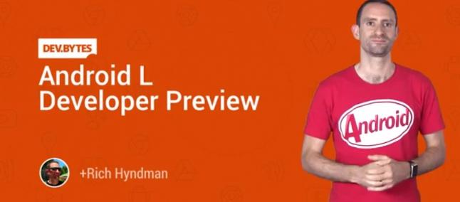 Android L video: ecco il primo promo per gli sviluppatori