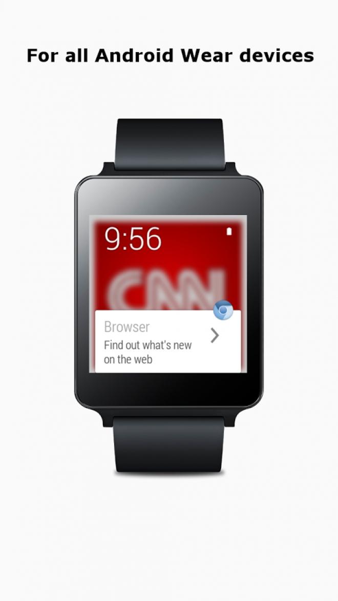Android Wear: ecco il primo browser per smartwatch Google
