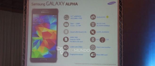 Samsung Galaxy Alpha presentato in Russia: ecco foto e scheda tecnica
