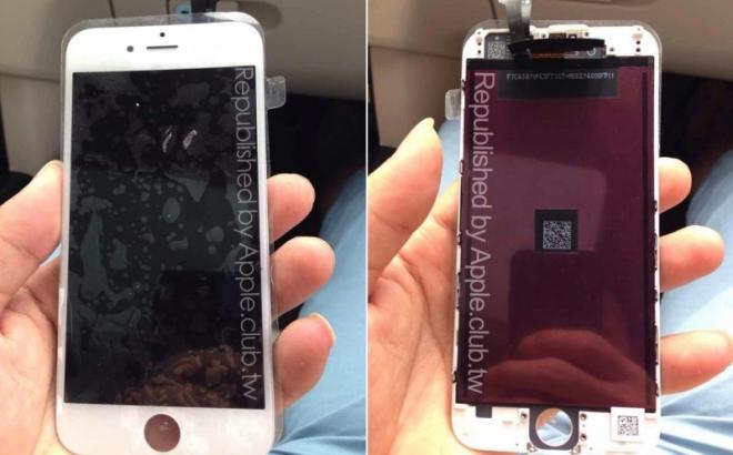 Apple iPhone 6: ecco un'altra foto che ci mostra il pannello frontale
