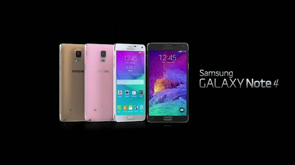 Samsung Galaxy Note 4 presentato finalmente da Samsung